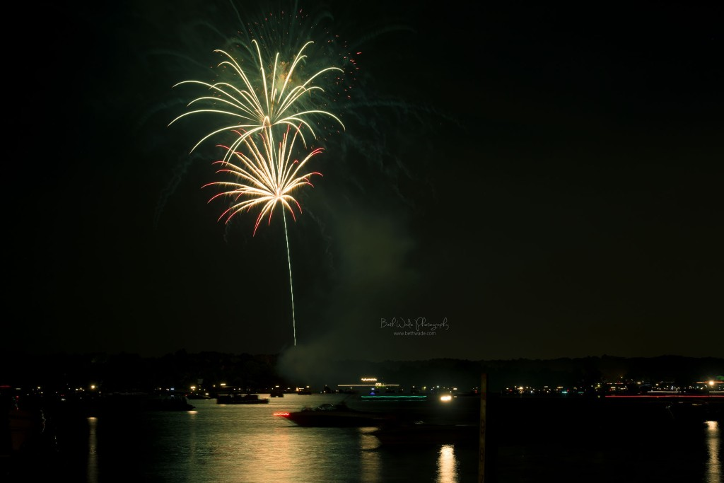 july 4th fireworks on lake wylie ~ independence day 2014 {charlotte professional photographer}