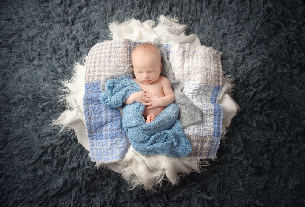 july baby boom! sweet boy 10 days young ~ family of 3 {fort mill studio newborn photography}
