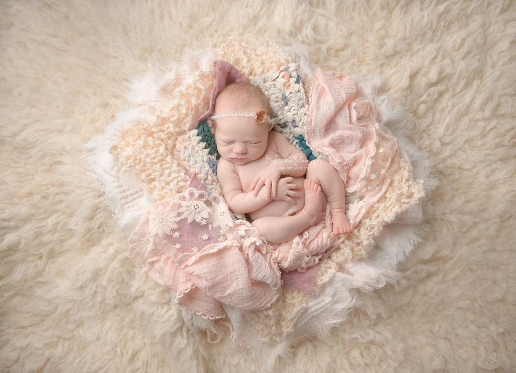 sweet baby girl N ~ so happy at 8 days old {newborn photographer tega cay}