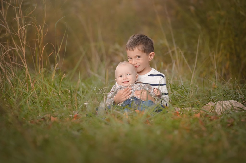 family of 4 ~ 7 month old little brother {charlotte baby photographer}