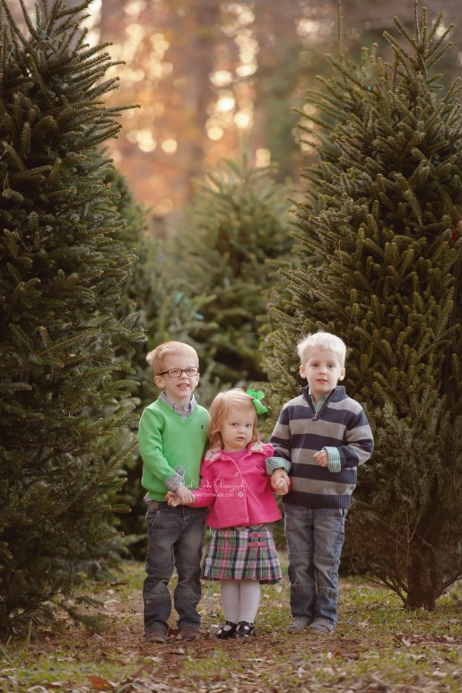 family of 5 ~ holiday photos  {lake wylie child photographer}