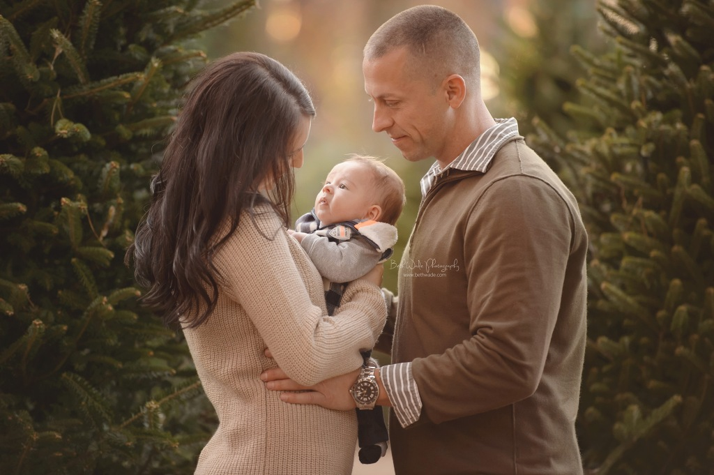 christmas holiday photos ~ dreamy light {rock hill sc baby photographer}