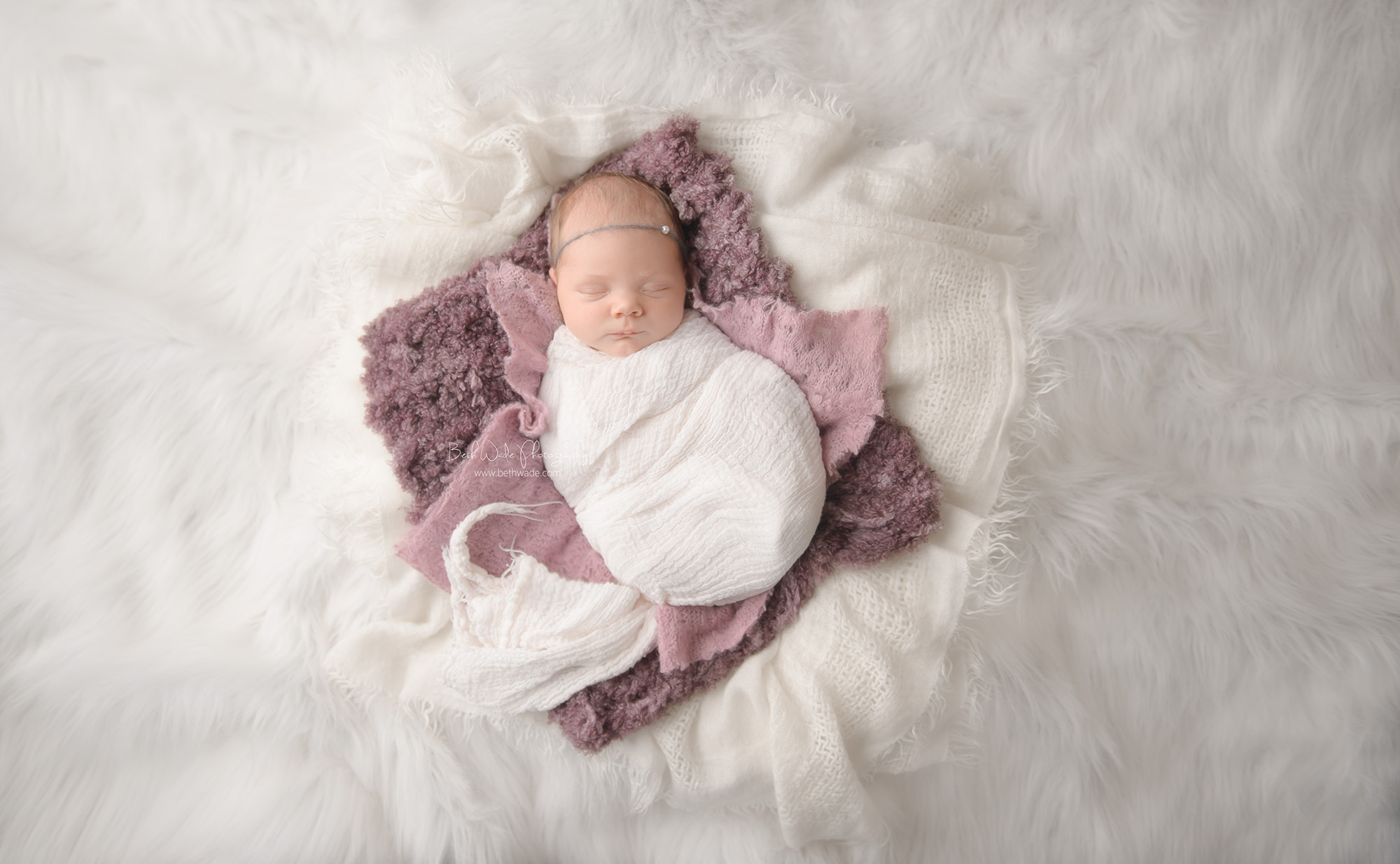 new year baby girl ~ 14 days old {newborn photographer huntersville}