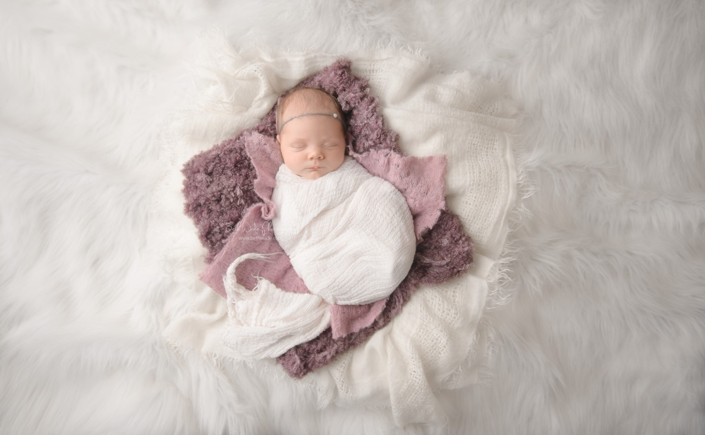 new year baby girl ~ 14 days old {newborn photographer huntersville}