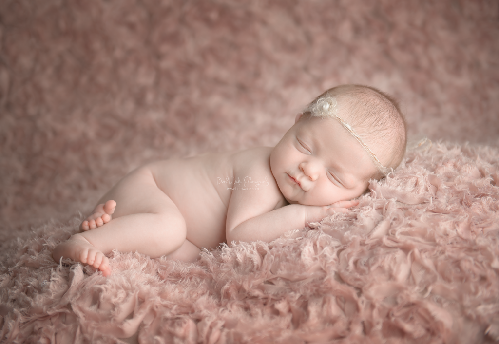 awesome couple welcome baby girl {newborn photographer south charlotte nc}