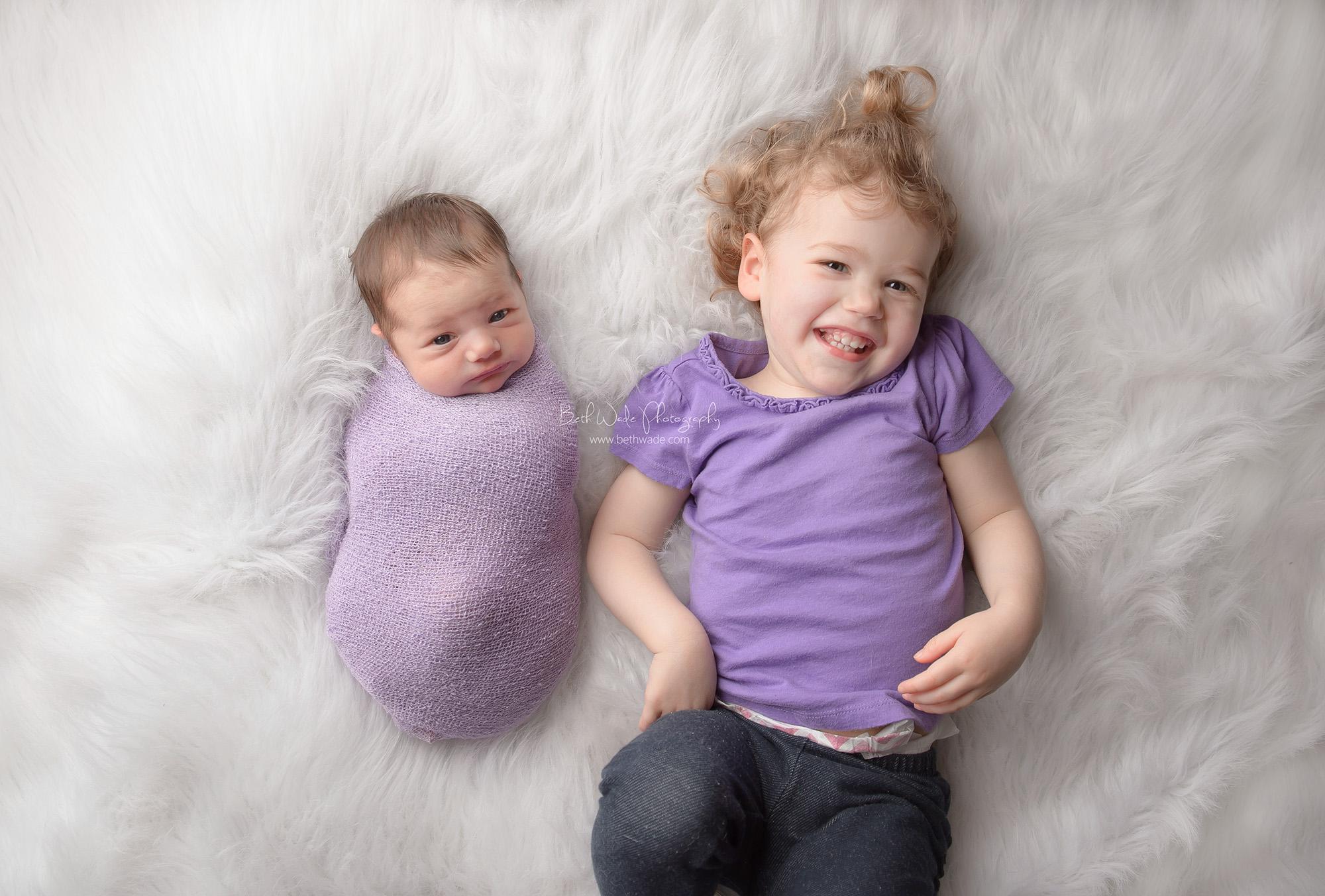baby sister F ~ sweet girl 9 days new {newborn photographer ballantyne}