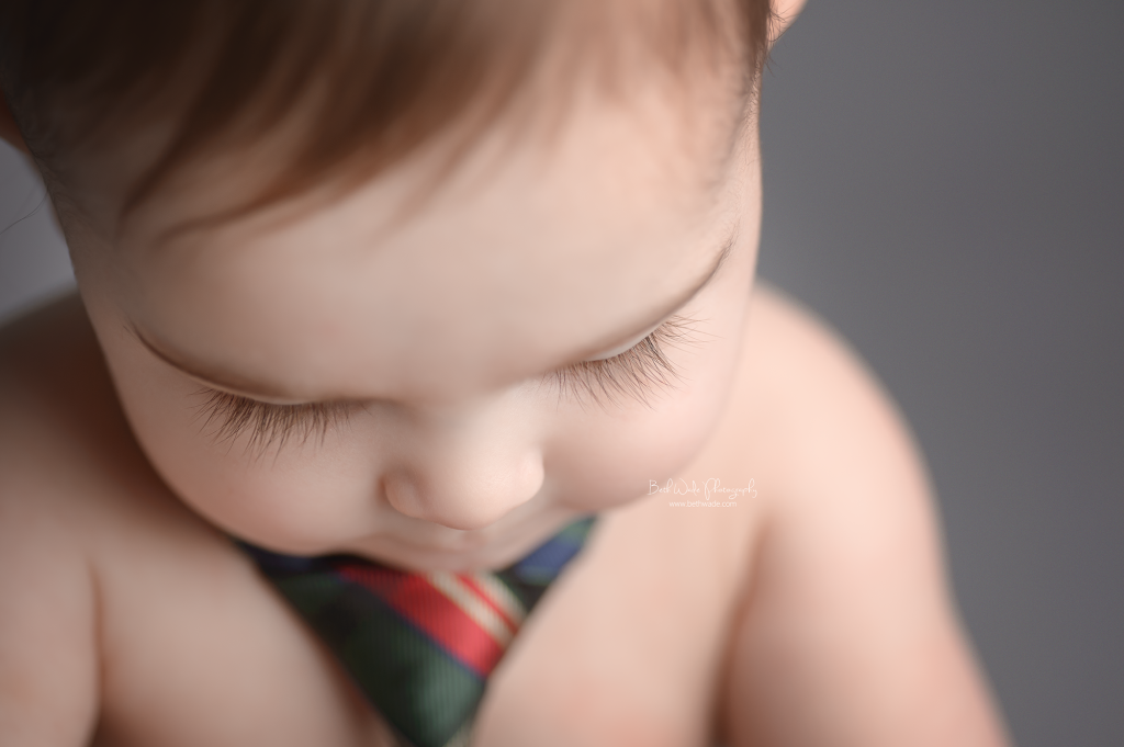 lash love ~ 6 month old baby boy {rock hill child photographer}