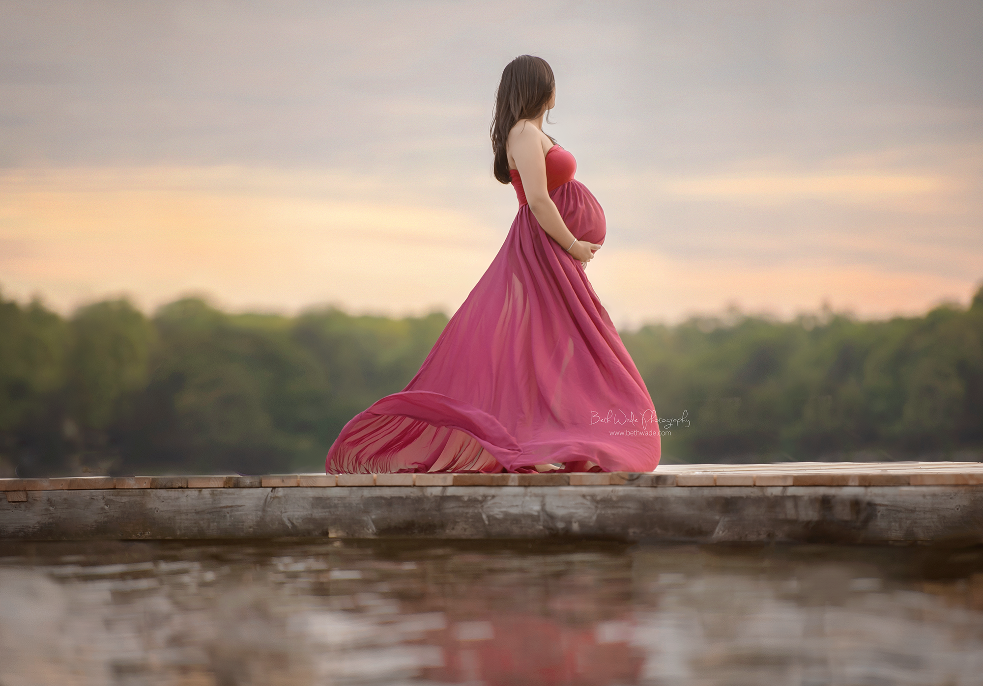 baby girl makes 4 ~ summer pregnancy {mooresville maternity photographer}