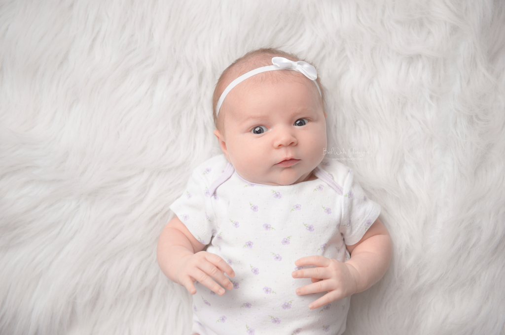 sweet alice jane ~ our girl is 1 month old  {lake wylie baby photographer}