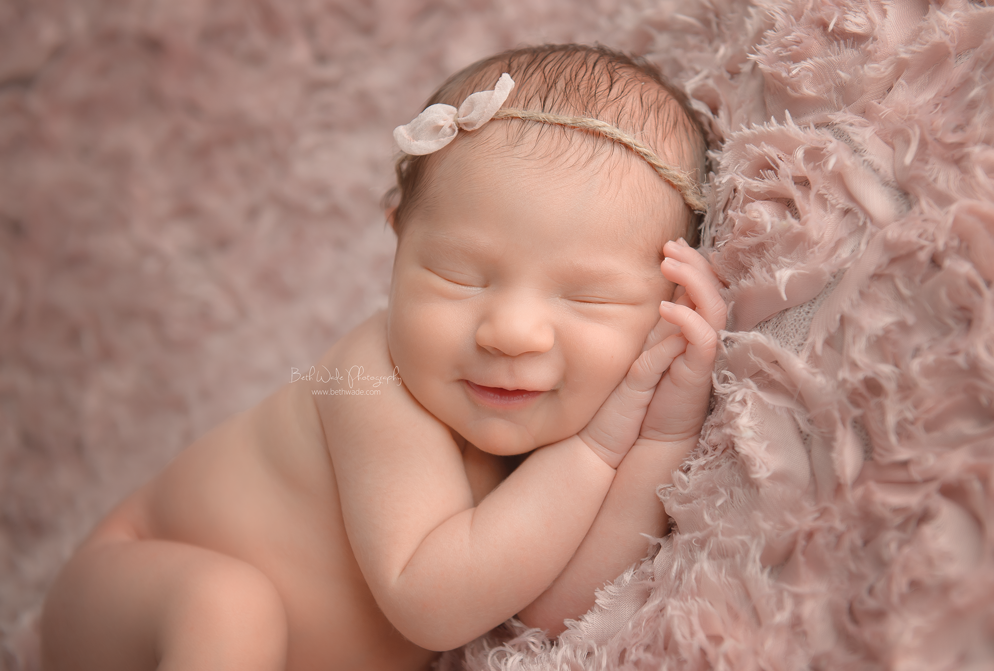 beautiful baby girl ~ bed of roses {concord newborn photographer}