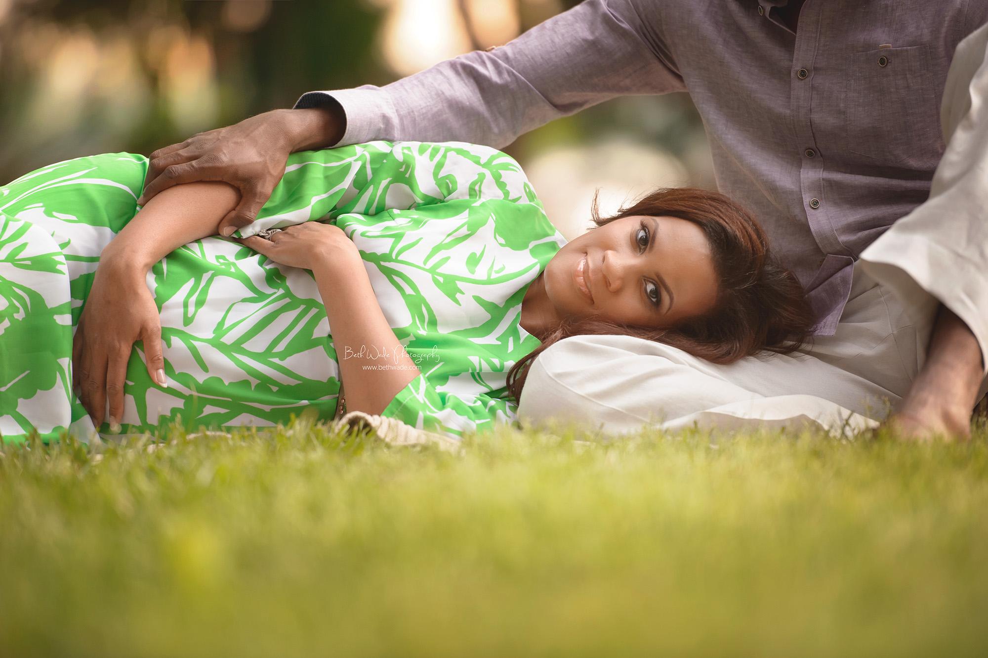 summer surprise pregnancy ~ pink or blue {ballantyne maternity photographer}