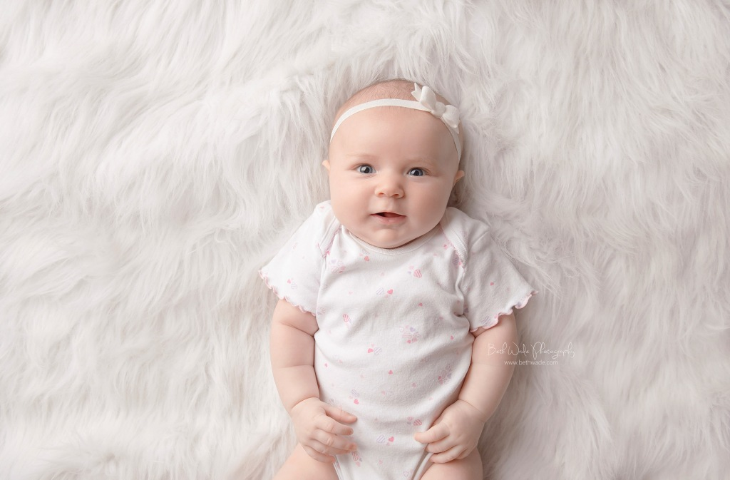 sweet alice jane ~ our girl is 3 months old  {lake wylie baby photographer}