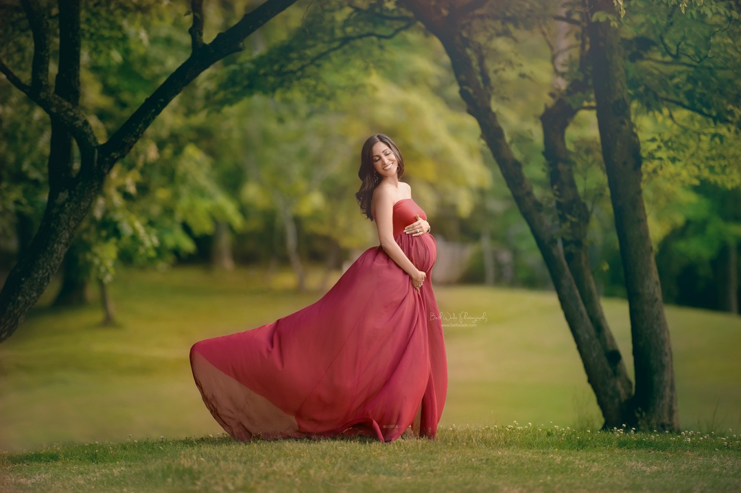 beautiful expecting mama ~ baby girl due {charlotte maternity photographer}