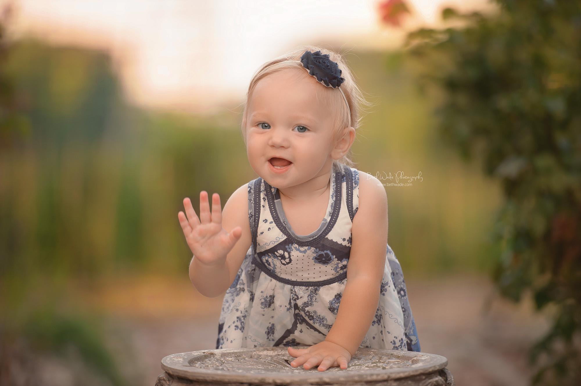 happy 1 year sweet girl ~ family of 3 {cornelius baby photographer}