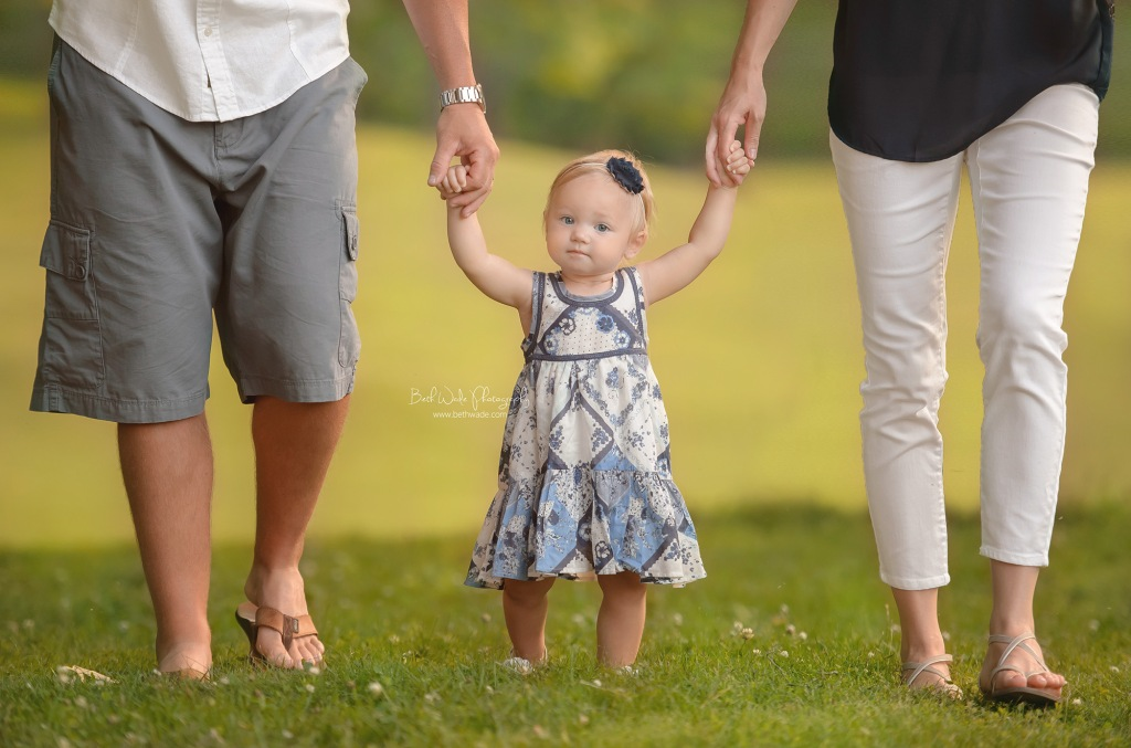 happy 1 year sweet girl ~ family of 3 {cornelius baby photographer}