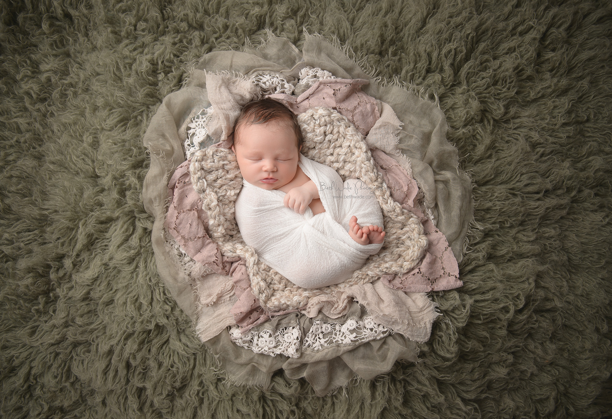 born on the 4th of july ~ 10 day old baby girl {lake wylie newborn photography}