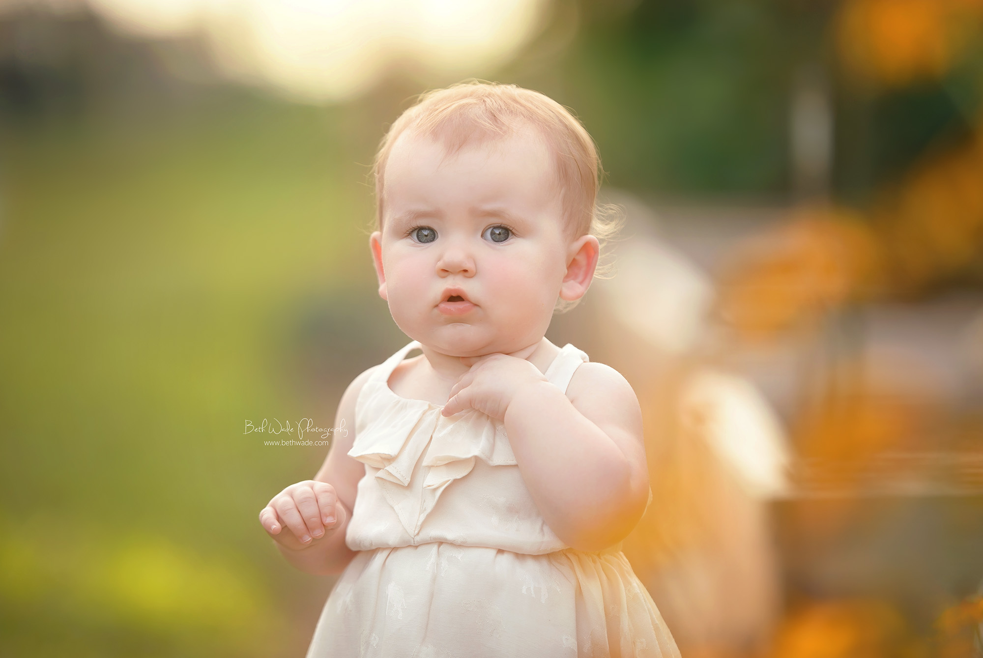 happy 1 year ~ sweet cheeks {fort mill baby photographer}