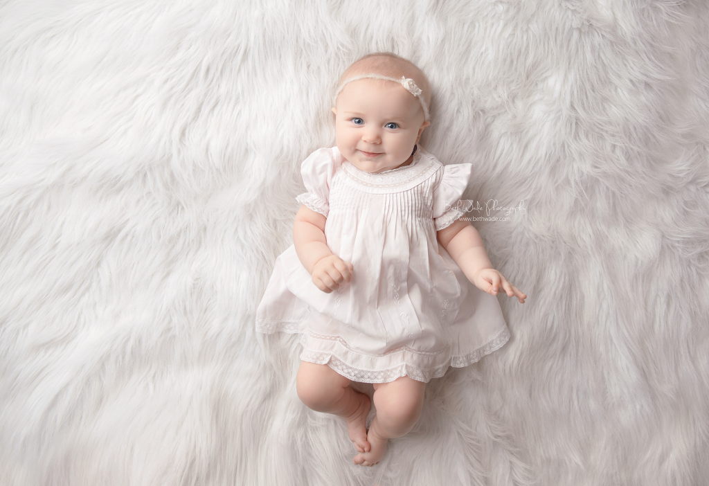 sweet alice jane ~ our girl is 6 months old {lake wylie baby photographer}