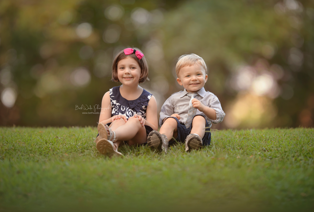 sweet siblings ~ family of 4 {north carolina child photographer}