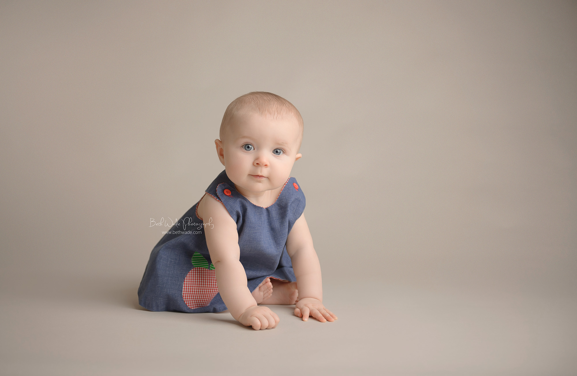 sweet alice jane ~ our girl is 7 months old {lake wylie baby photographer}