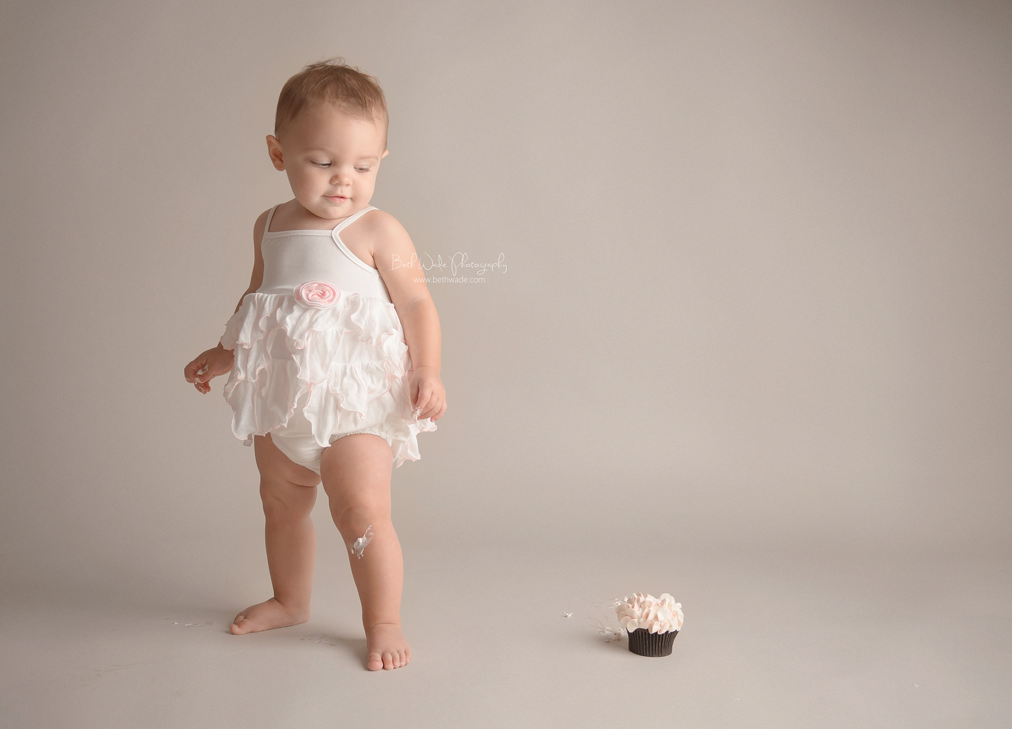 precious baby girl ~ first birthday {charlotte baby photographer}