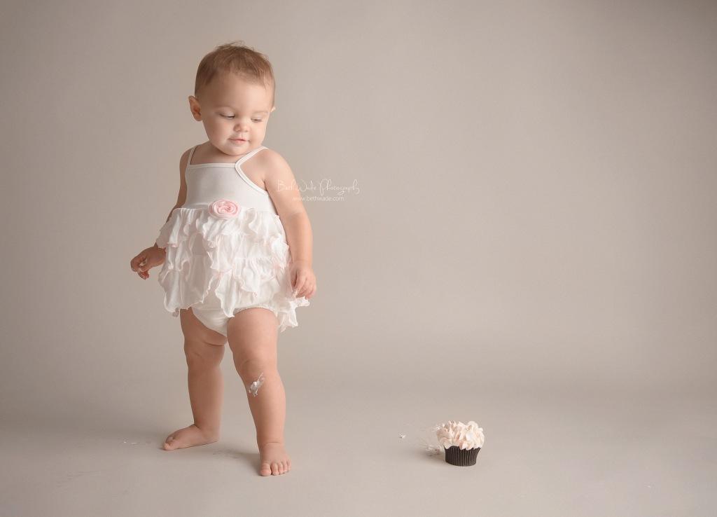precious baby girl ~ first birthday {charlotte baby photographer}
