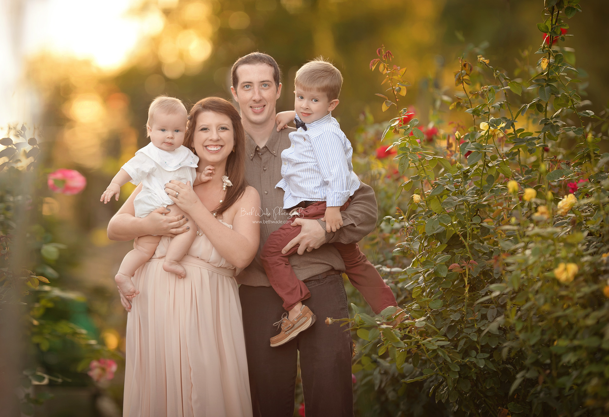 sunshine daydream ~ the o family of 4 {north carolina baby photographer}