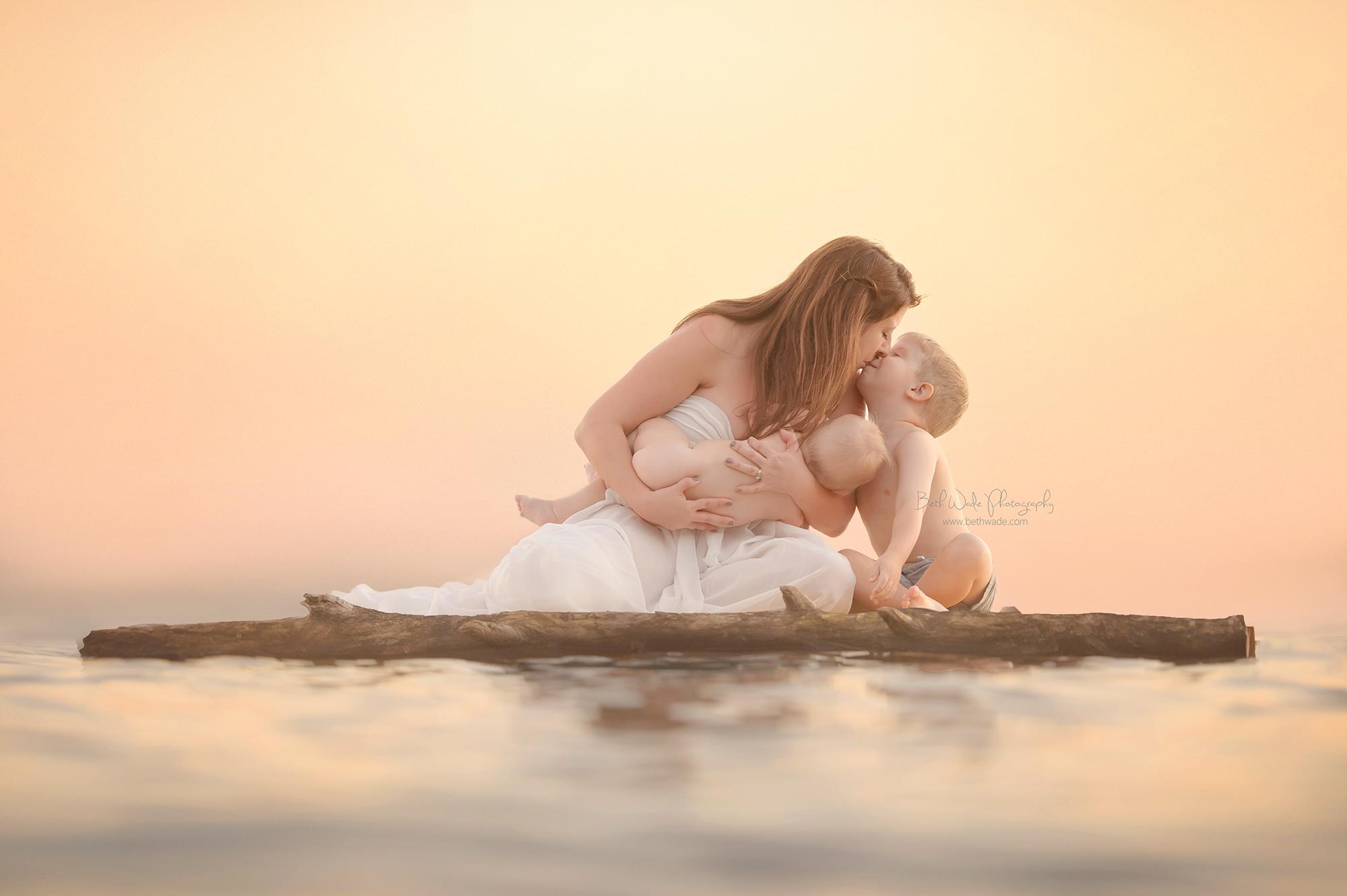 sunshine daydream ~ the o family of 4 {north carolina baby photographer}