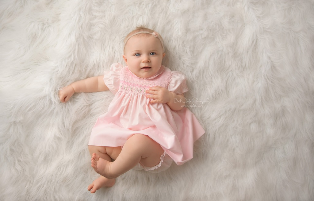 sweet alice jane ~ our girl is 9 months old {lake wylie baby photographer}