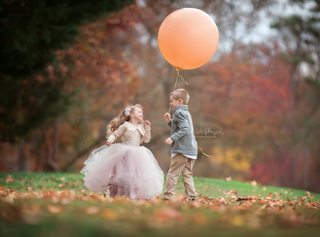 autumn magic ~ fall family session {lake wylie child photographer}