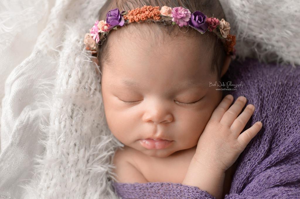 dreamy baby girl ~ 11 days young {huntersville newborn photography}