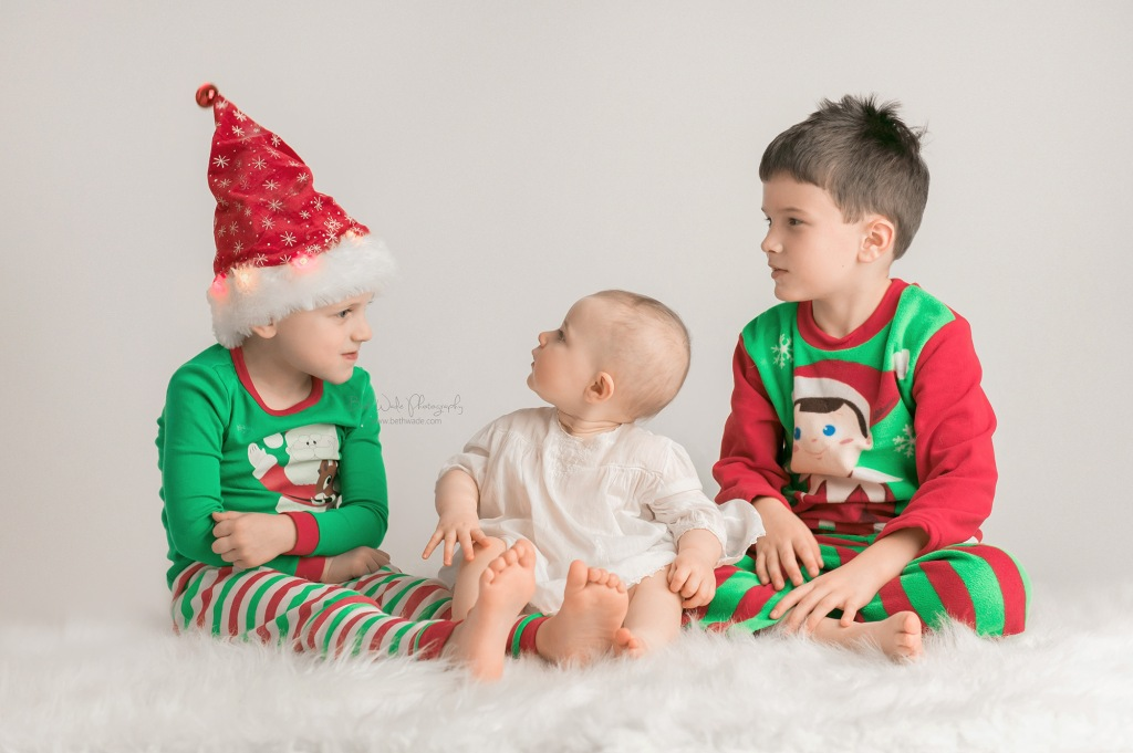 my family ~ happy holiday photos {lake wylie baby photographer}
