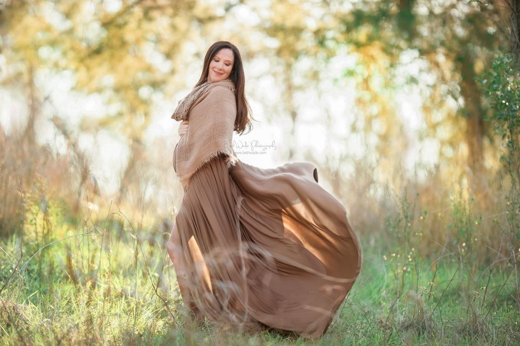 baby girl makes 4 ~ winter pregnancy {charlotte maternity photographer}