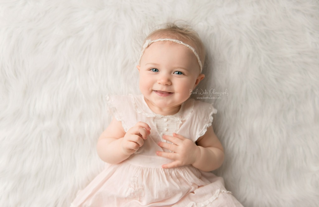 sweet alice jane ~ our girl is 11 months old {lake wylie baby photographer}