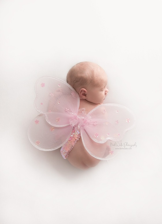 happy new year ~ baby girl 8 days old {charlotte newborn photography}