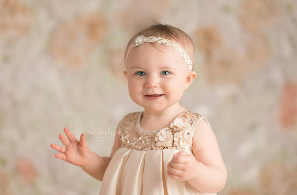 alice jane studio photos ~ our girl is 1 year old {lake wylie baby photographer}