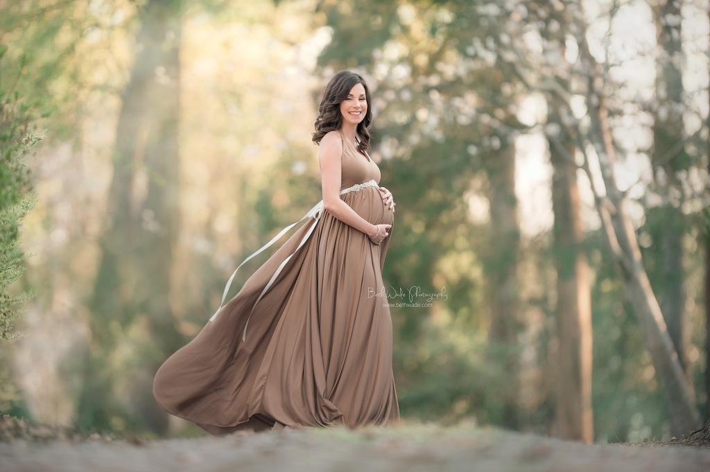 springtime baby girl {lake wylie maternity portraits}