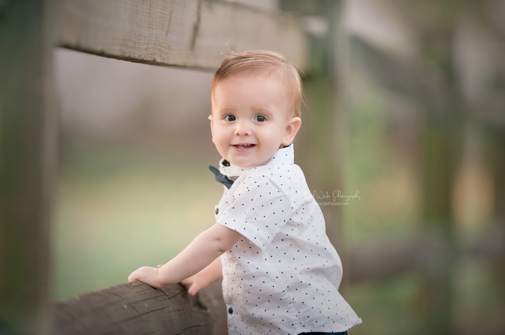 happy 1 year baby boy {south charlotte baby photographs}