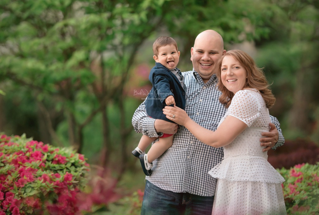 first year family of 3 {fort mill baby photographer}