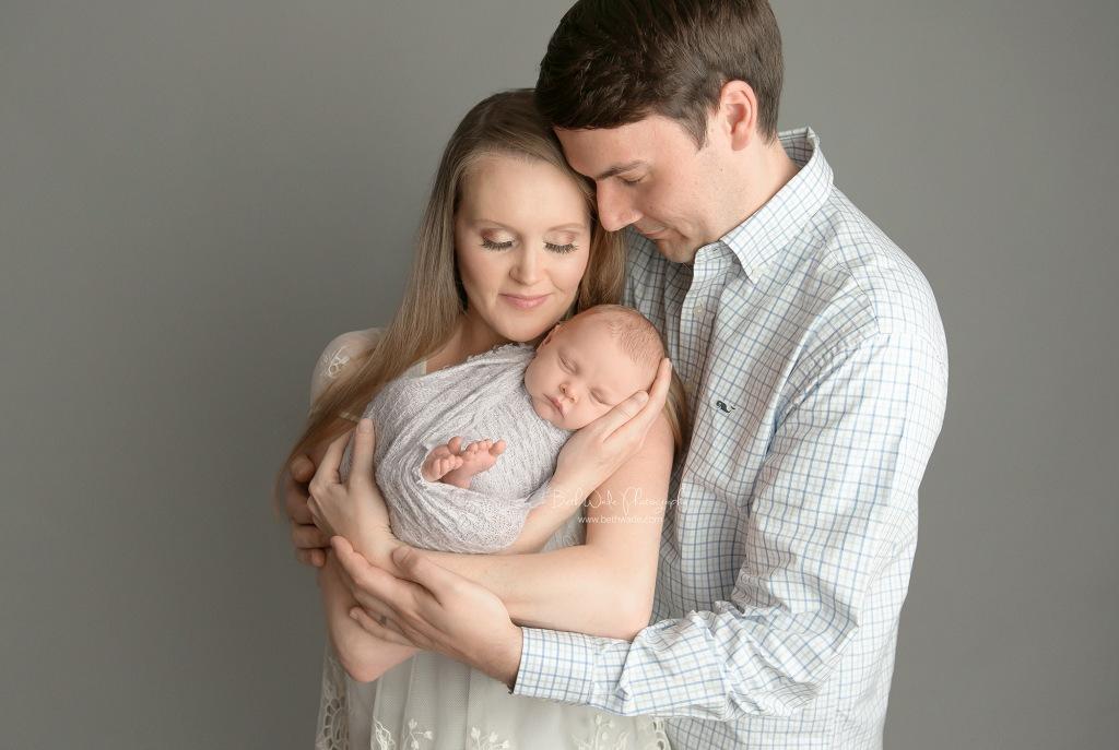 3 generations of women ~ priceless gift {charlotte newborn photographer}