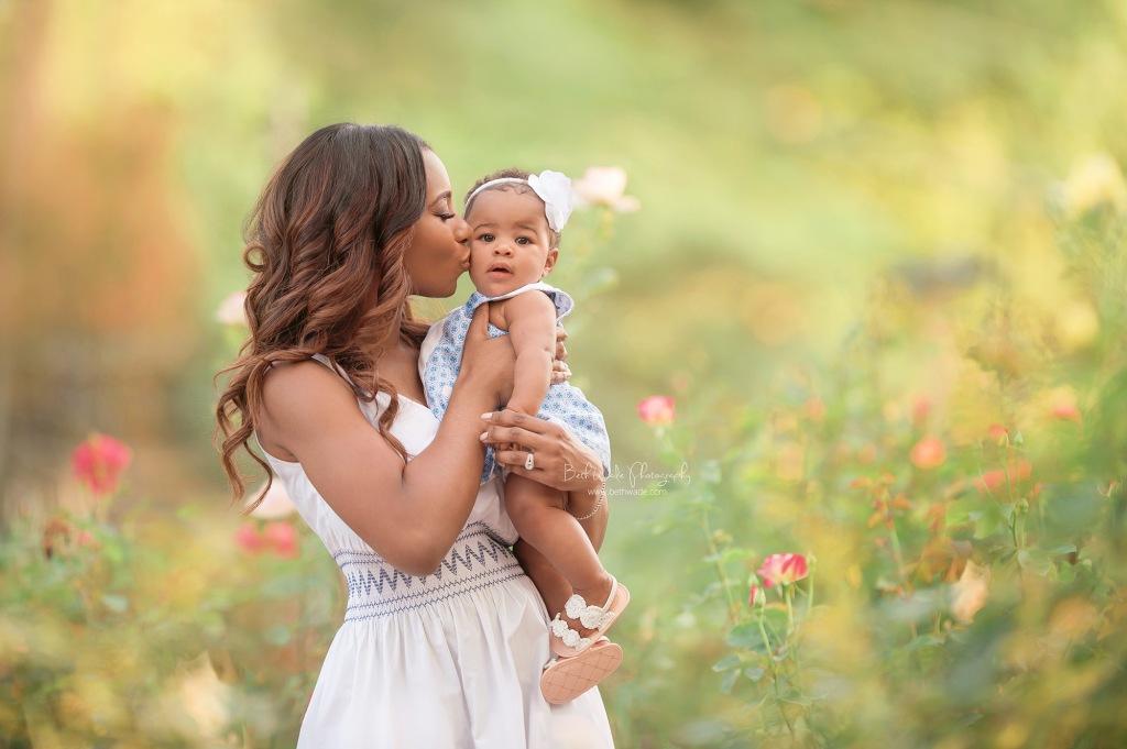 happy half birthday baby girl stewart {fort mill family photographer}