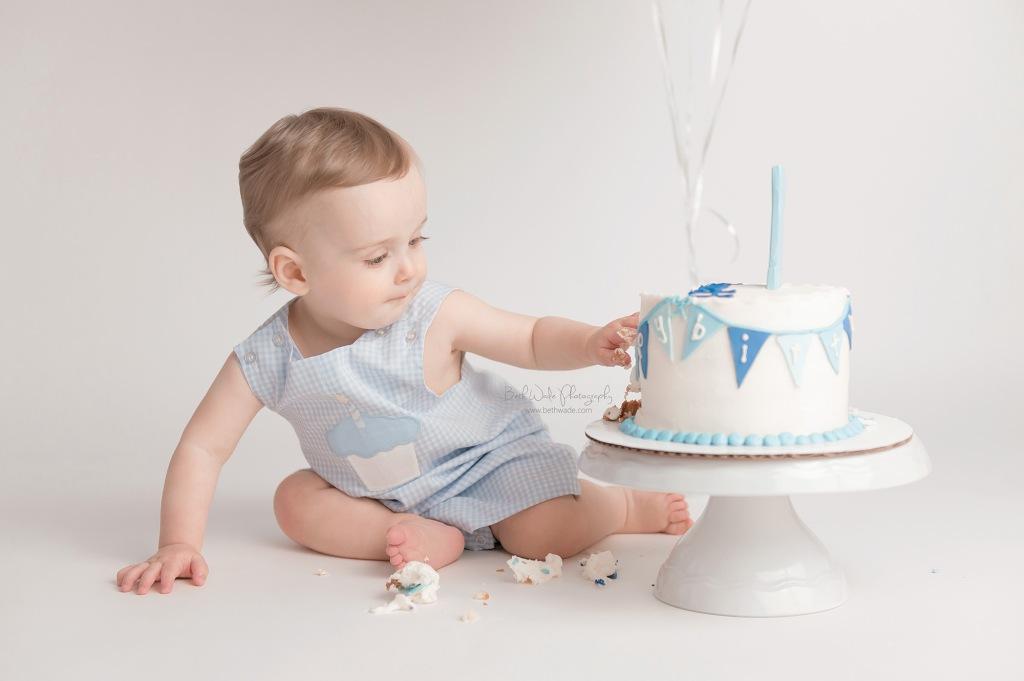 baby boy turns 1 ~ rainbow magic {fort mill family photos}
