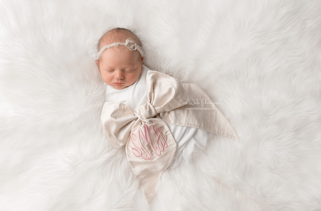 baby girl 9 days new {south charlotte newborn photography}