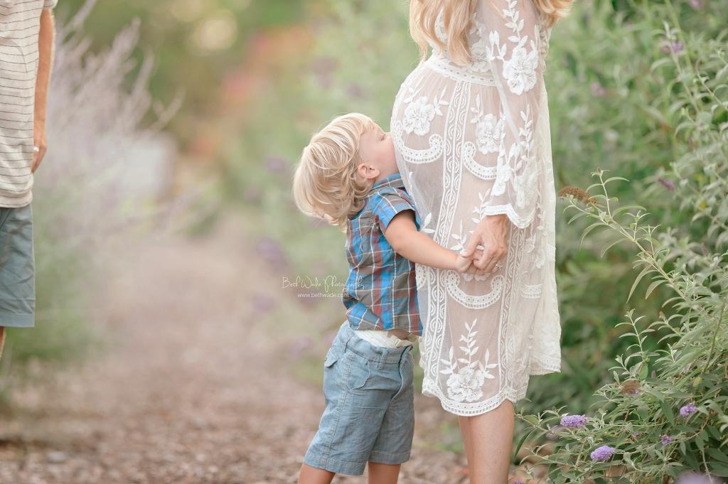 expecting a baby girl {cornelius nc maternity photos}