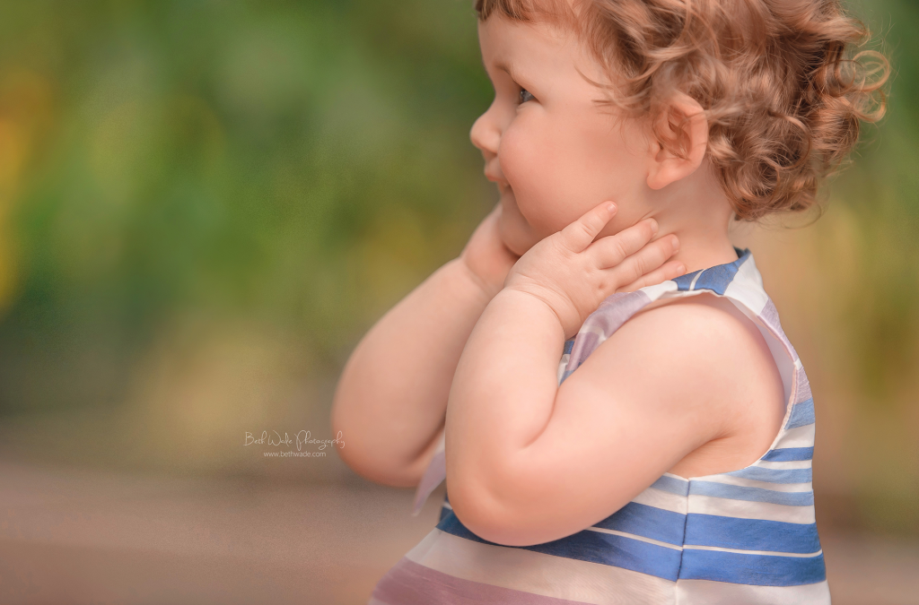 happy birthday year 2 baby girl {mount holly family photographer}
