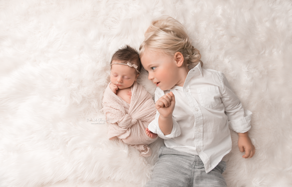 baby girl makes family of 4  {lake norman newborn photos}