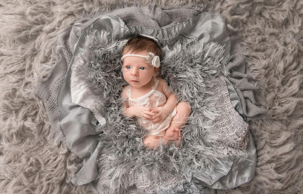 baby girl makes family of 4 {lake norman newborn photos}