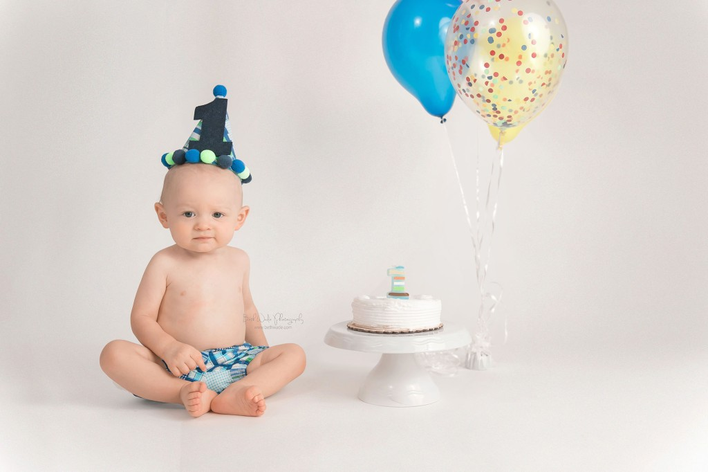 happy 1 year little man {fort mill baby photos}