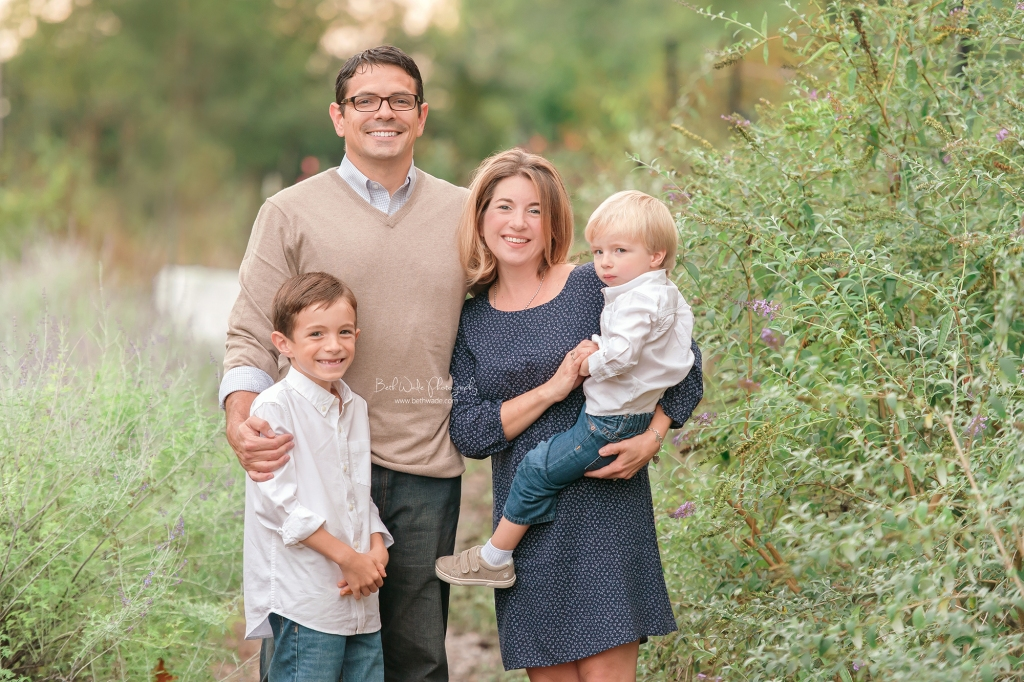 family of 4 ~ fall holiday session {charlotte child photographer}