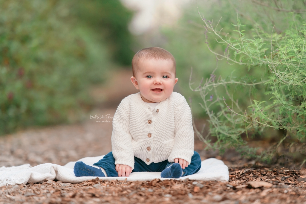 autumn holiday photos ~ family of 4 {concord nc baby photographer}